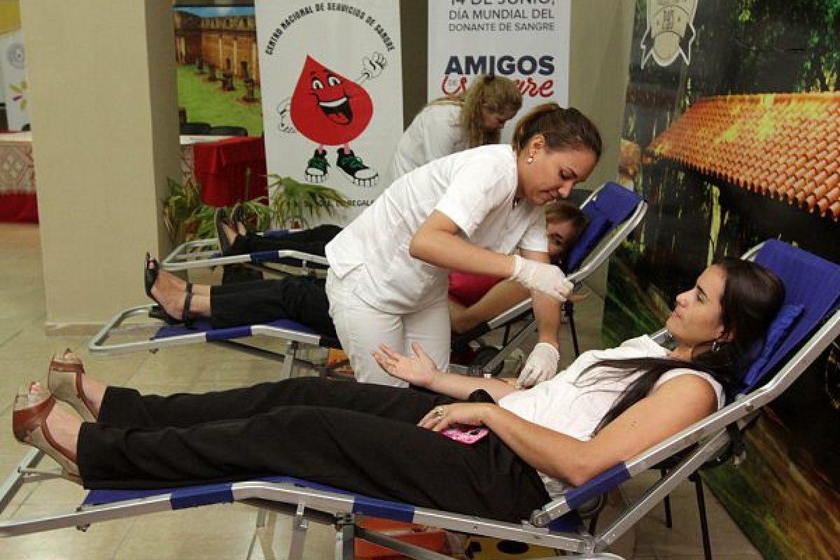 Salud insta a la donación de sangre