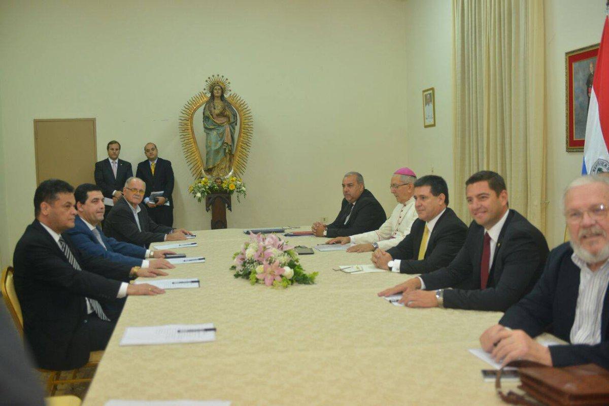 Mesa de dialogo. Foto gentileza: Presidencia