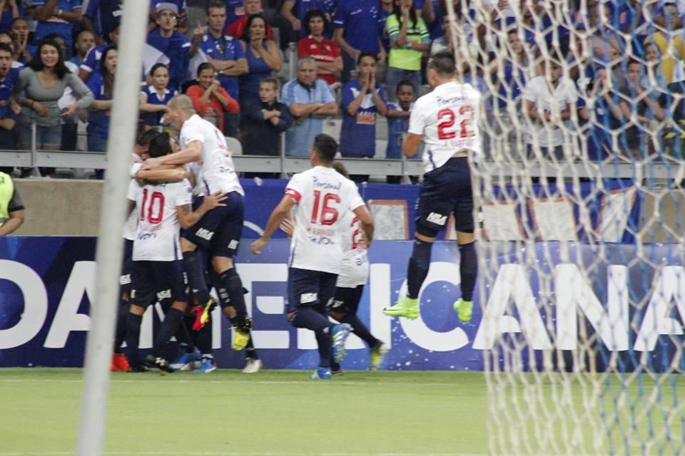 Cruzeiro 2 vs Nacional 1. Foto: Club Nacional