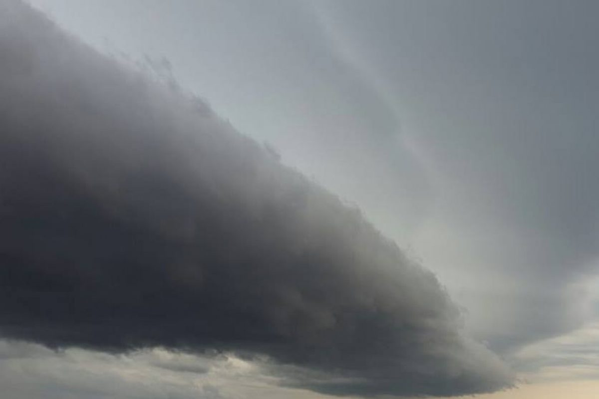 Según pronóstico Inicio de semana con precipitaciones