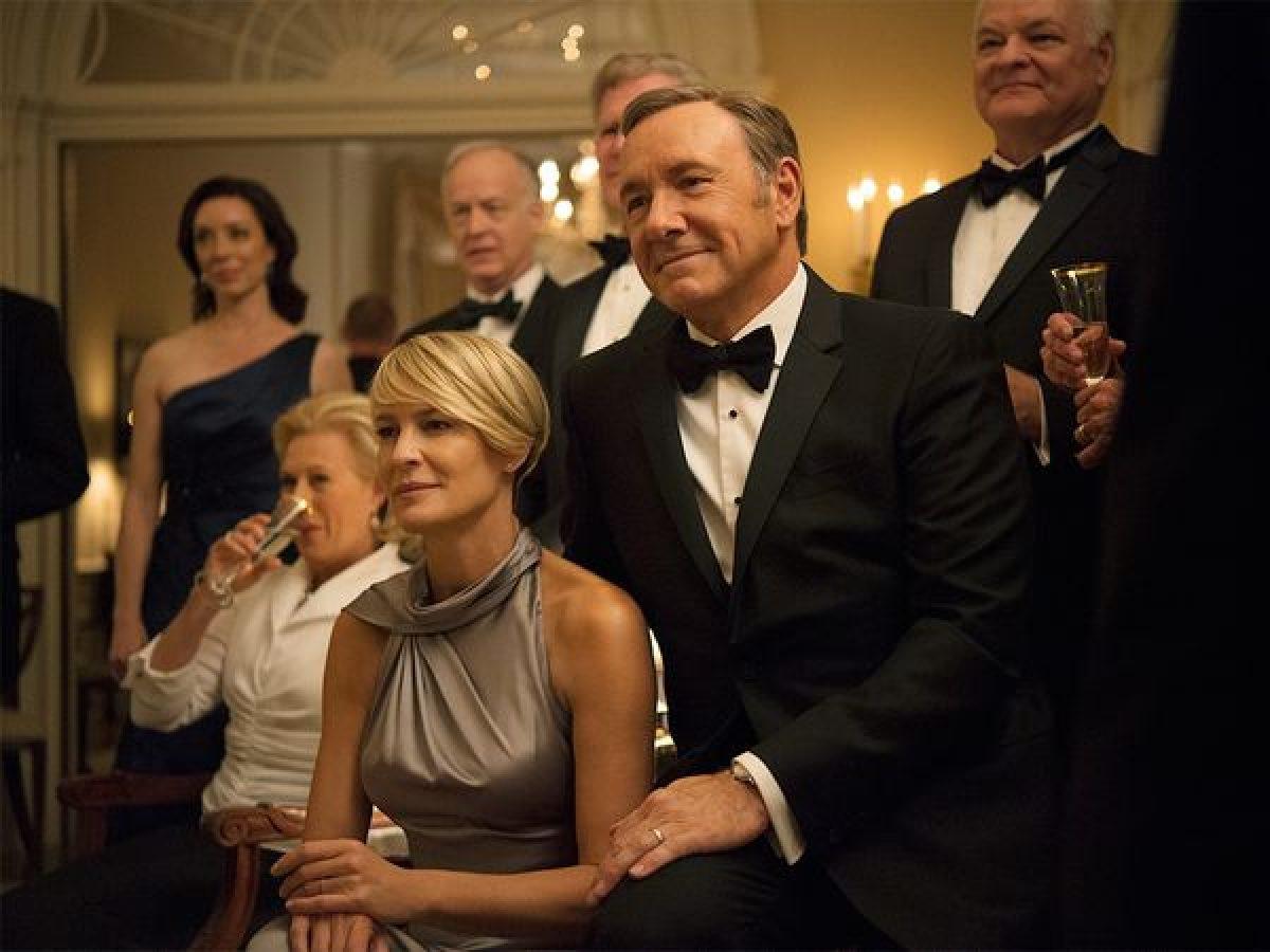 House of Cards, la serie de Netflix inicia su quinta temporada