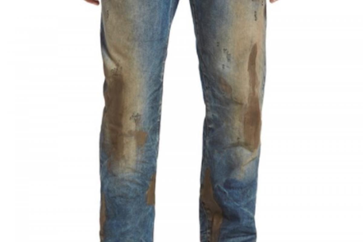 Venden un jean sucio por más de 2 millones de guaraníes