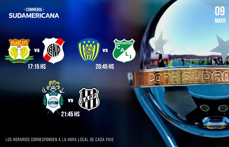 Copa Sudamericana. Imagen: Conmebol.