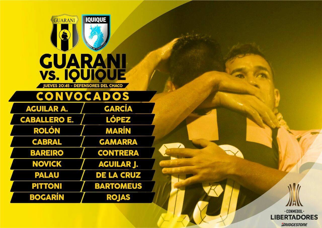 Guarani vs Iquique