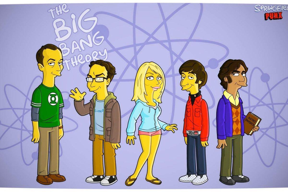 Los Simpsons conmemoraron sus 30 años parodiando a Big Bang Theory