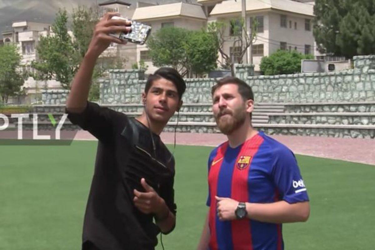 Te presentamos al clon de Lionel Messi