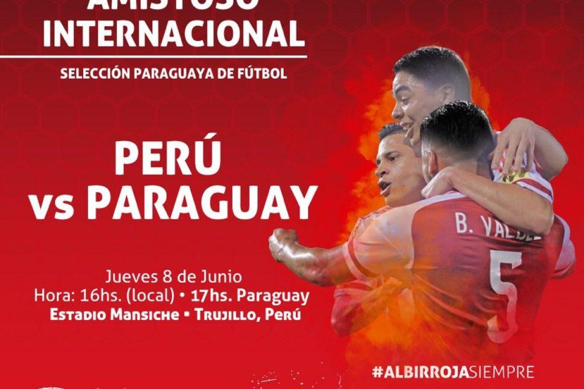 Hoy a las 17 hs. la albirroja juega amistoso ante Perú