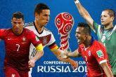 Portugal-Chile, por la Copa Confederaciones hoy 14 hs.