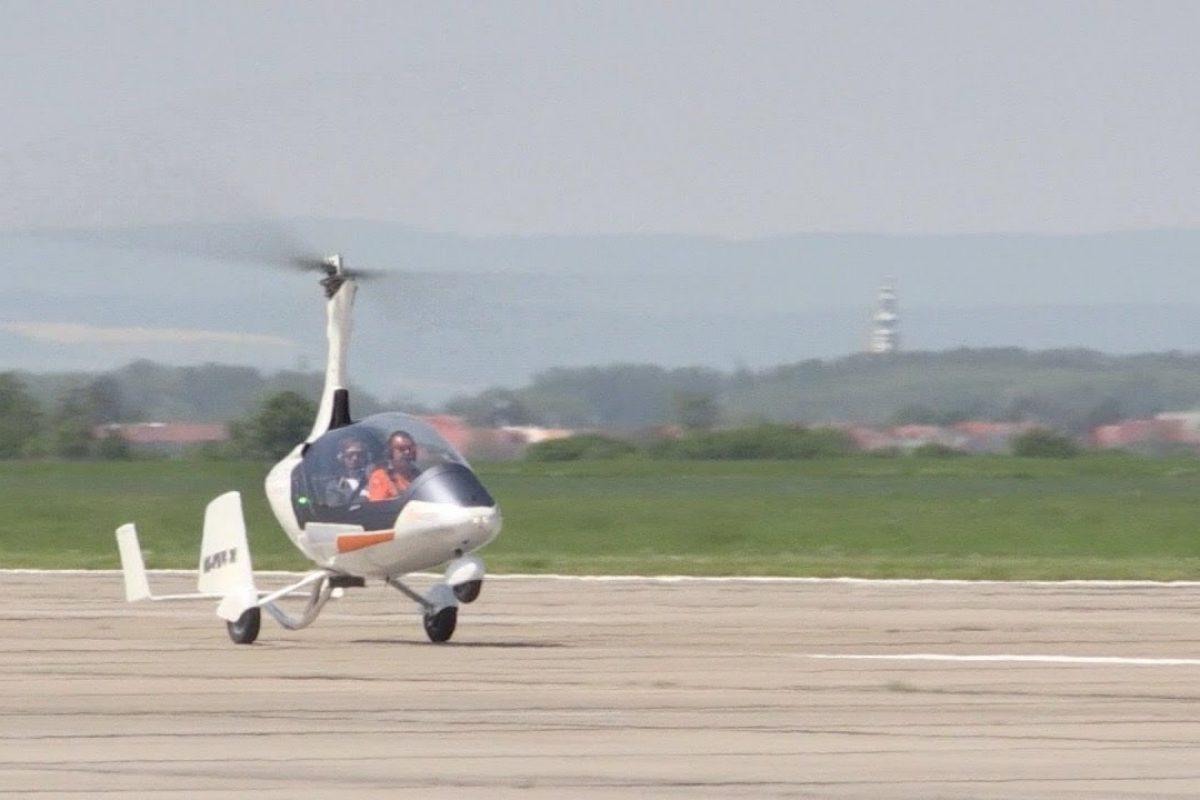 GyroDrive, antes del auto volador, llegó el helicóptero terrestre