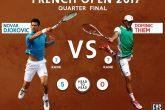 Roland Garros: Thiem elimina a Djokovic, enfrentará a Nadal