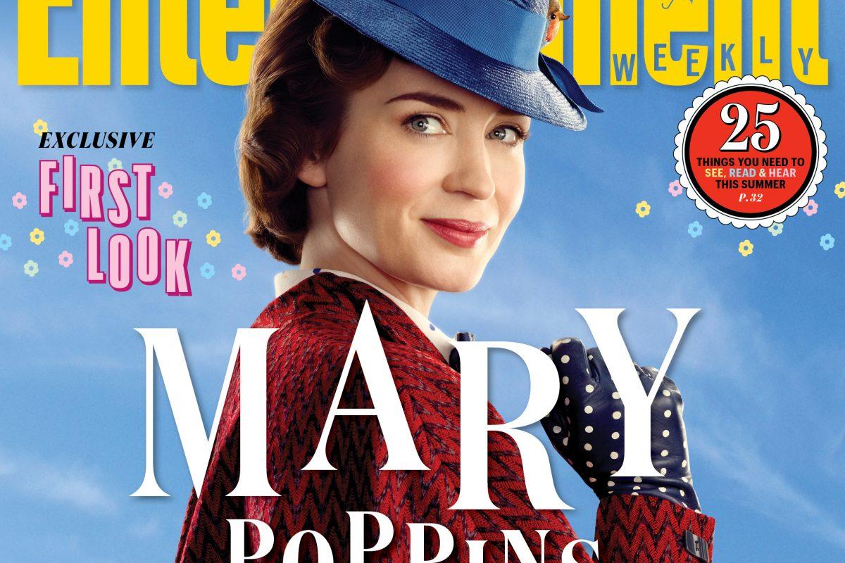 Nuevas imágenes oficiales de El Regreso de Mary Poppins