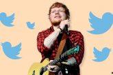 Ed Sheeran abandonó Twitter.