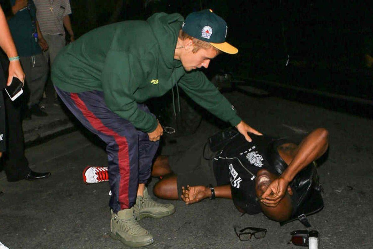 El paparazzi que fue atropellado por Justin Bieber declaró desde el hospital