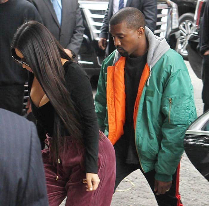kim-and-Kanye-in-NYC