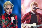 Lady Gaga dio su apoyo a Ed Sheeran
