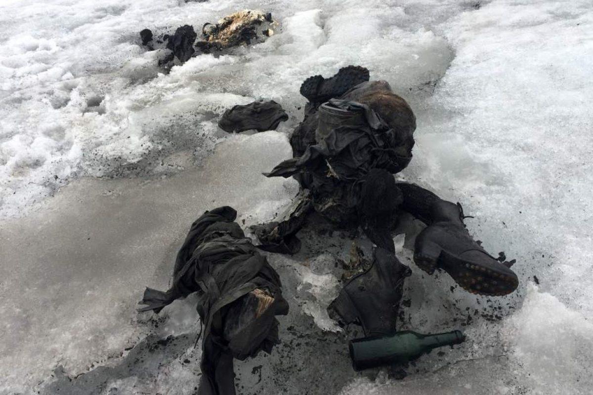 Pareja suiza desaparecida hace 75 años es encontrada en un glaciar