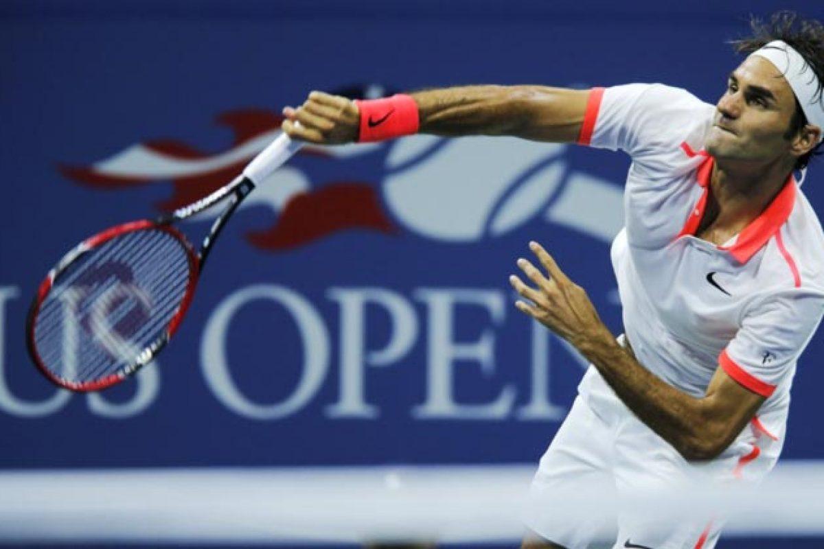 Federer sufre en la primera ronda del US Open