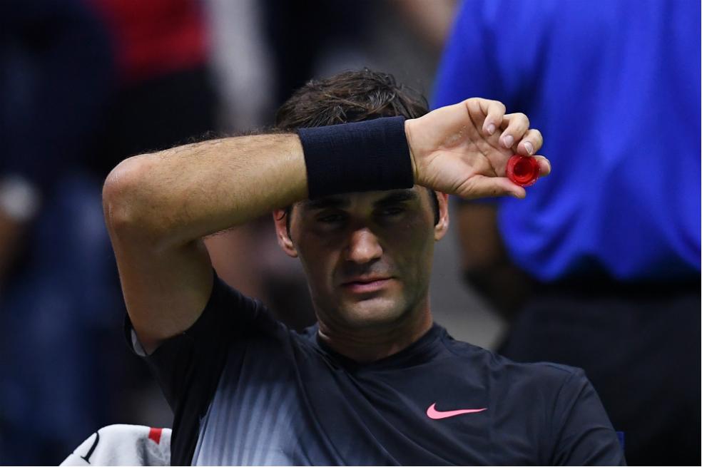 """""""Su majestad"""" remontó un duro partido en el US Open."""