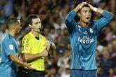 Cristiano Ronaldo recibe sanción de cinco partidos