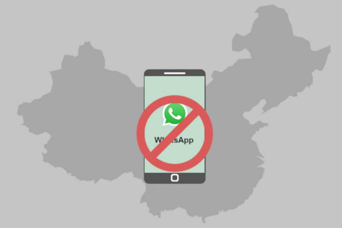China bloquea WhatsApp