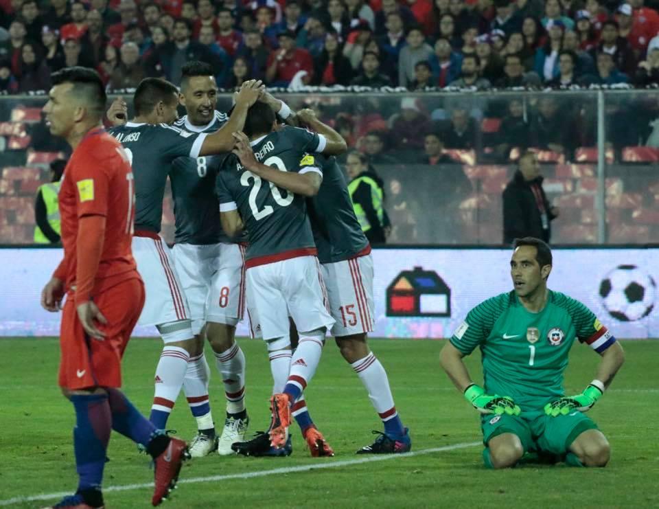 Paraguay vs Chile 2