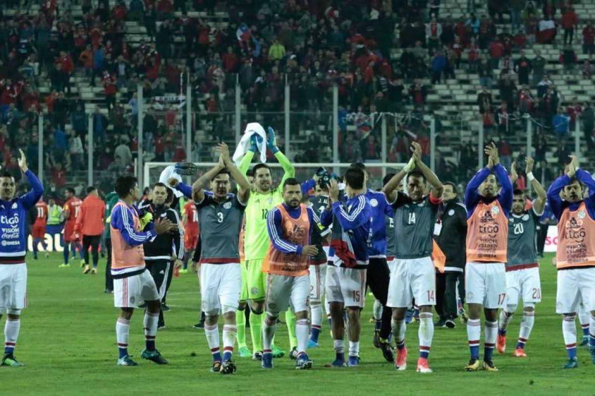 Paraguay le hizo 3 a Chile en su propia casa