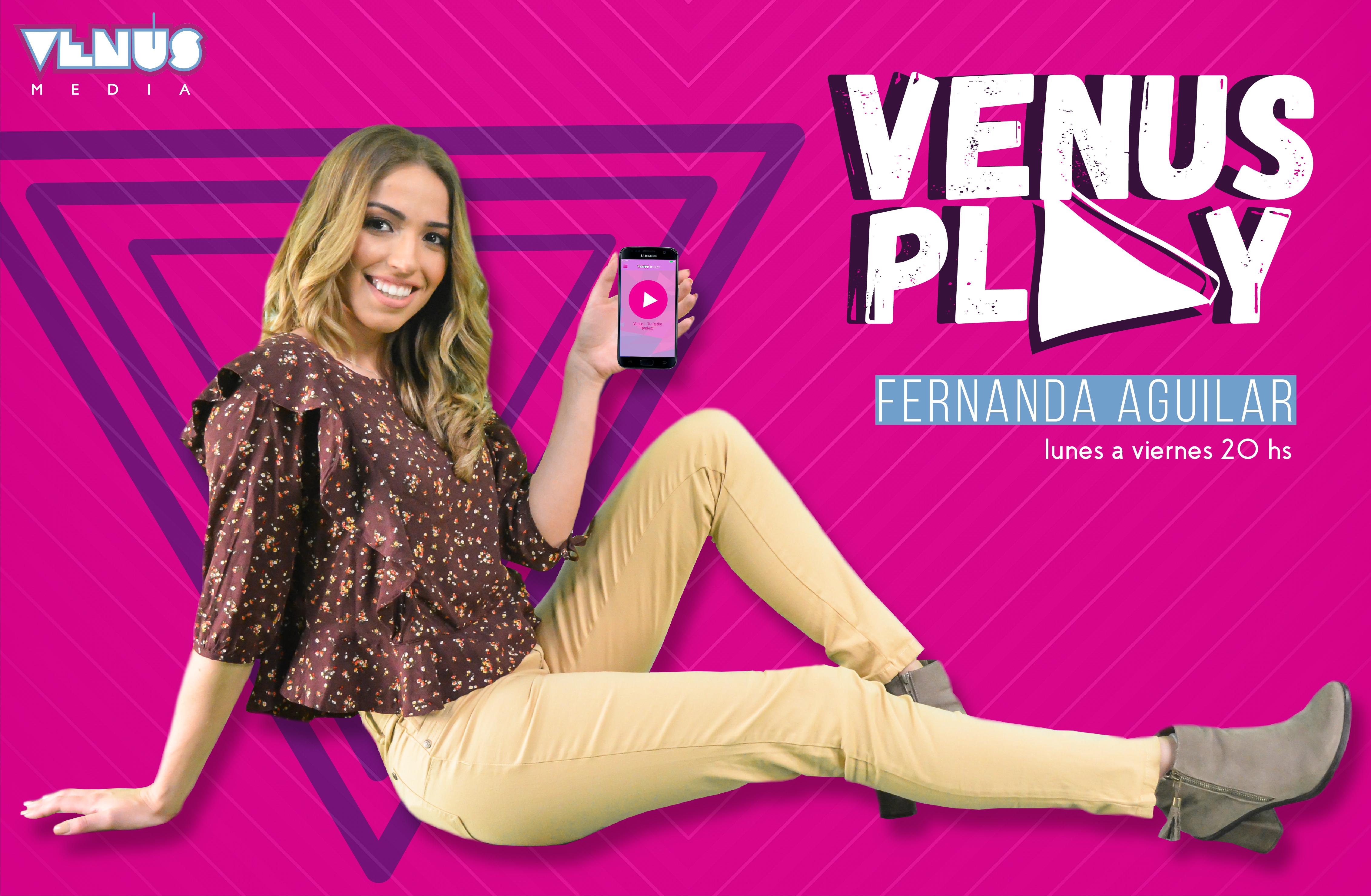 flyer programa VENUS PLAY