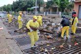Tras fuertes lluvias se recolectaron casi 30.000 kilos de basura