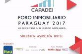 Llega el Foro Inmobiliario del Paraguay 2017