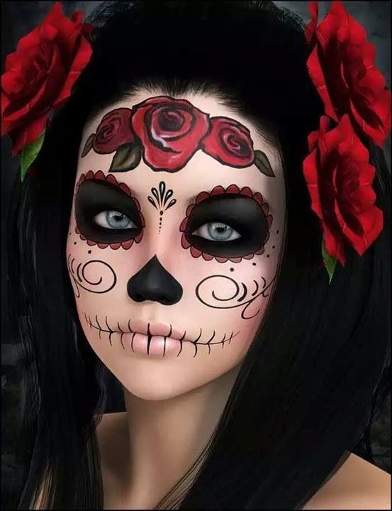makeup calavera1