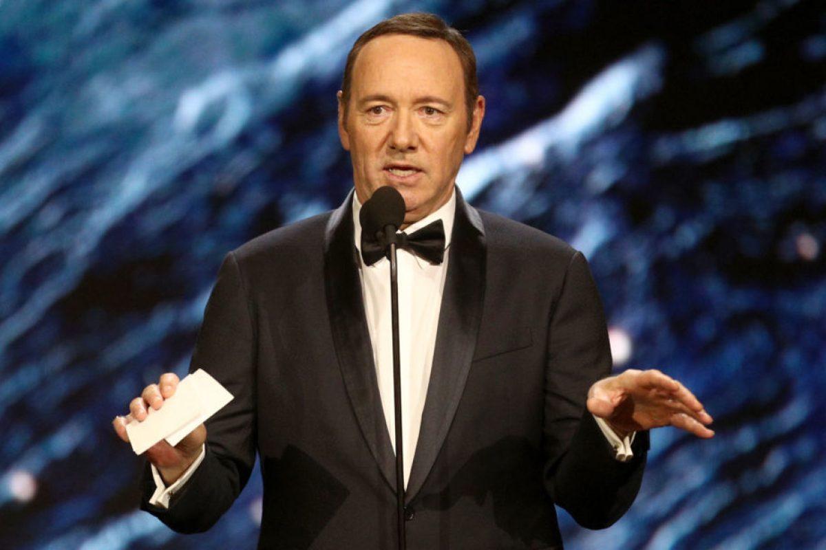 Kevin Spacey se declara gay tras ser acusado de acoso sexual