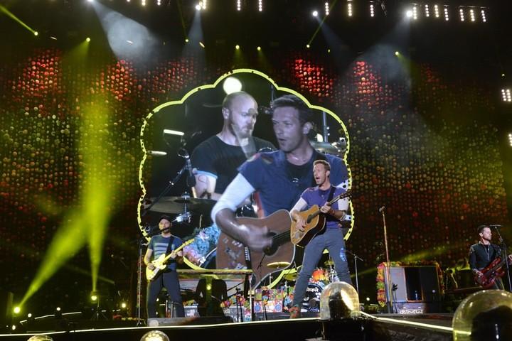 14-11 Show de Coldplay en La Plata. Foto: Andrés D'Elia