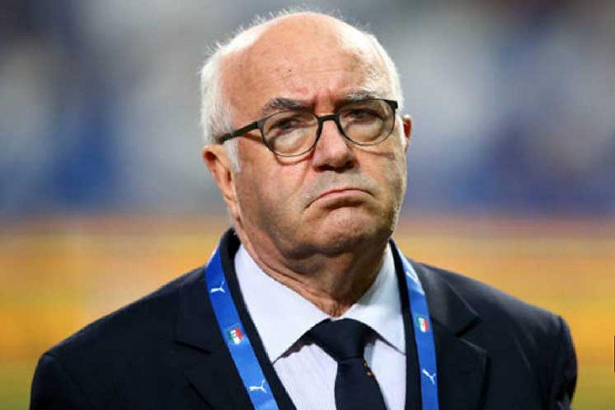 Presidente de Fútbol Italiano renuncia por no ir al Mundial 2018