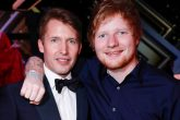 Ed Sheeran será padrino del hijo de James Blunt