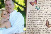 Murió en 2012 y en cada cumpleaños le siguió mandando flores a su hija