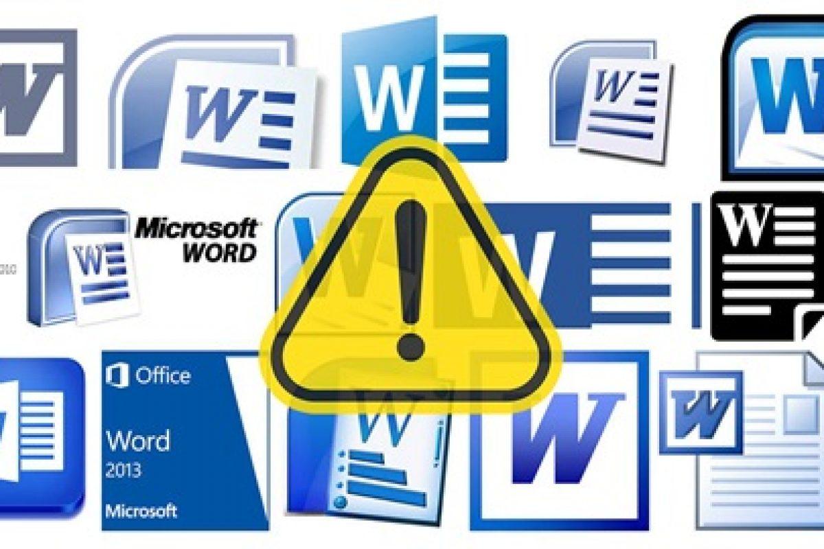 Alertan por virus que se propaga a través de Word