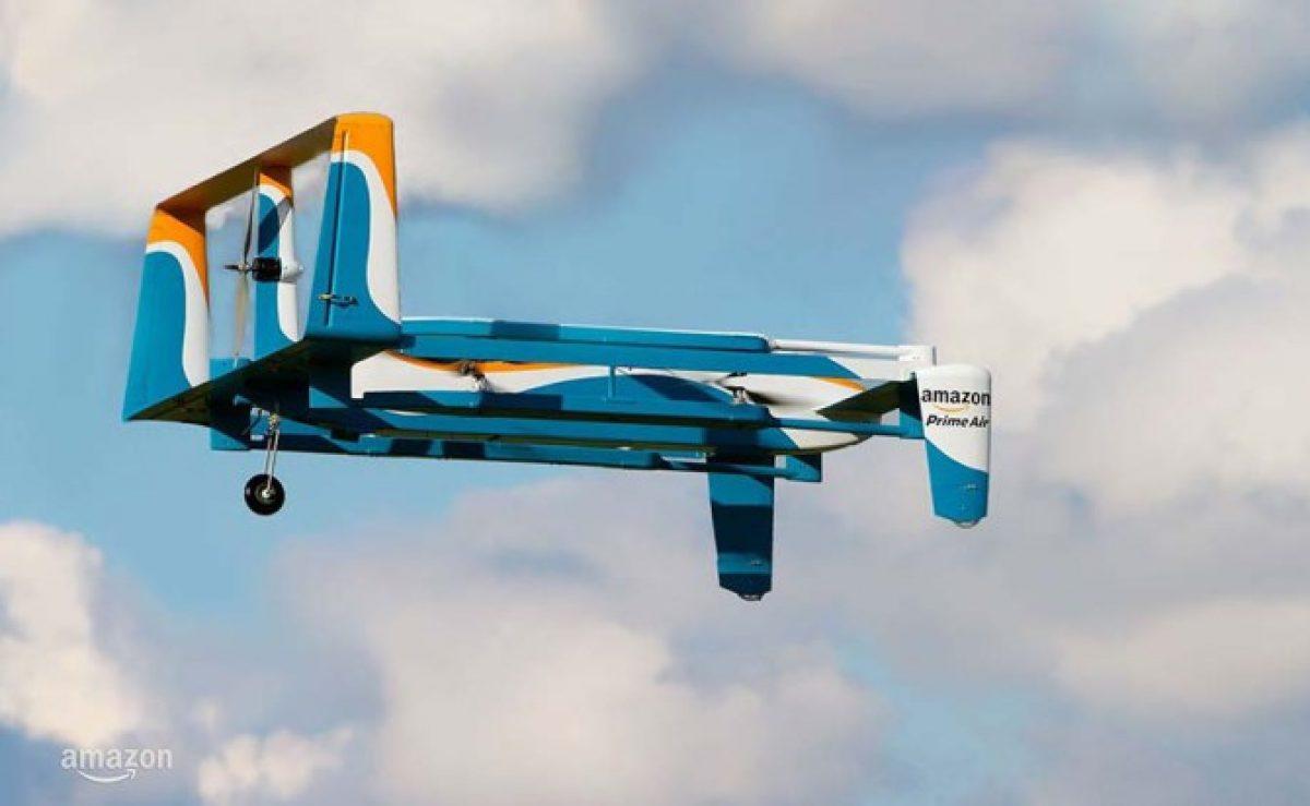 Amazon patentó un sistema de autodestrucción de drones
