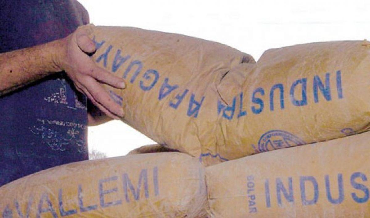 Record en ventas: La INC registró la mayor venta de bolsas de cemento este mes.