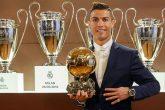 Cristiano Ronaldo recibirá el Balón de Oro en una ceremonia en la Torre Eiffel