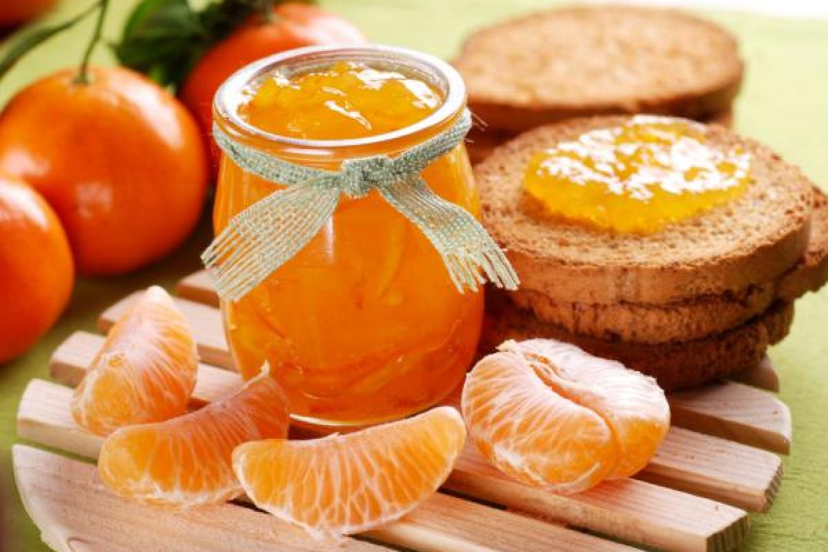 Cómo preparar dulce de mandarina para aumentar la inmunidad