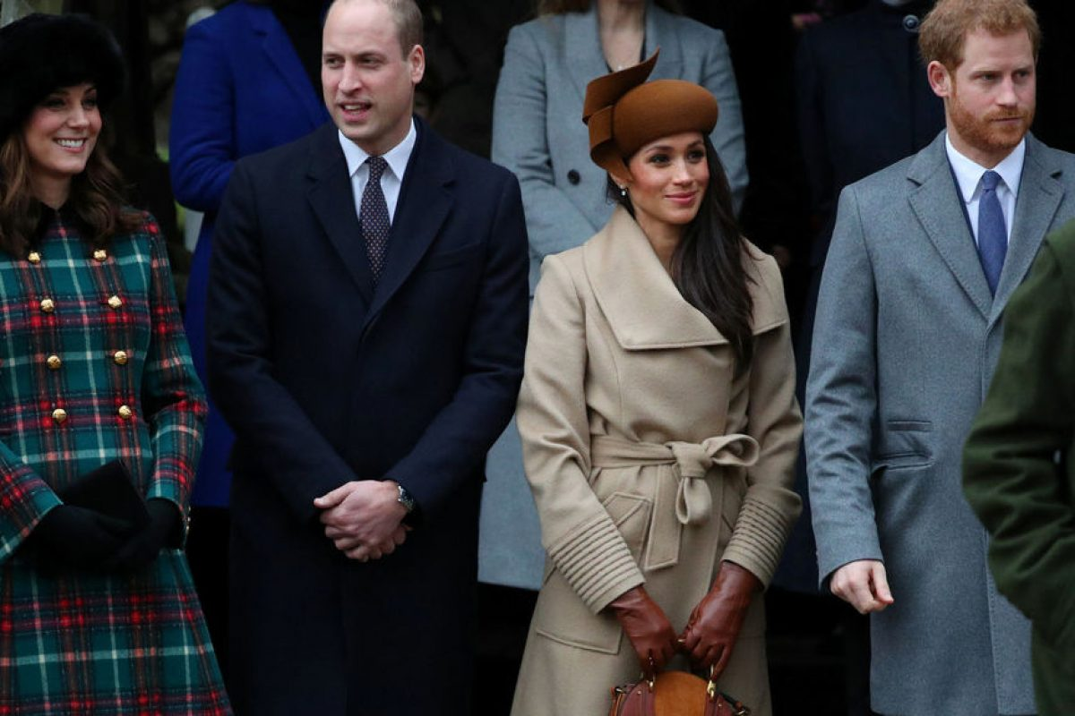Meghan Markle primer acto y primera foto junto a la familia real británica