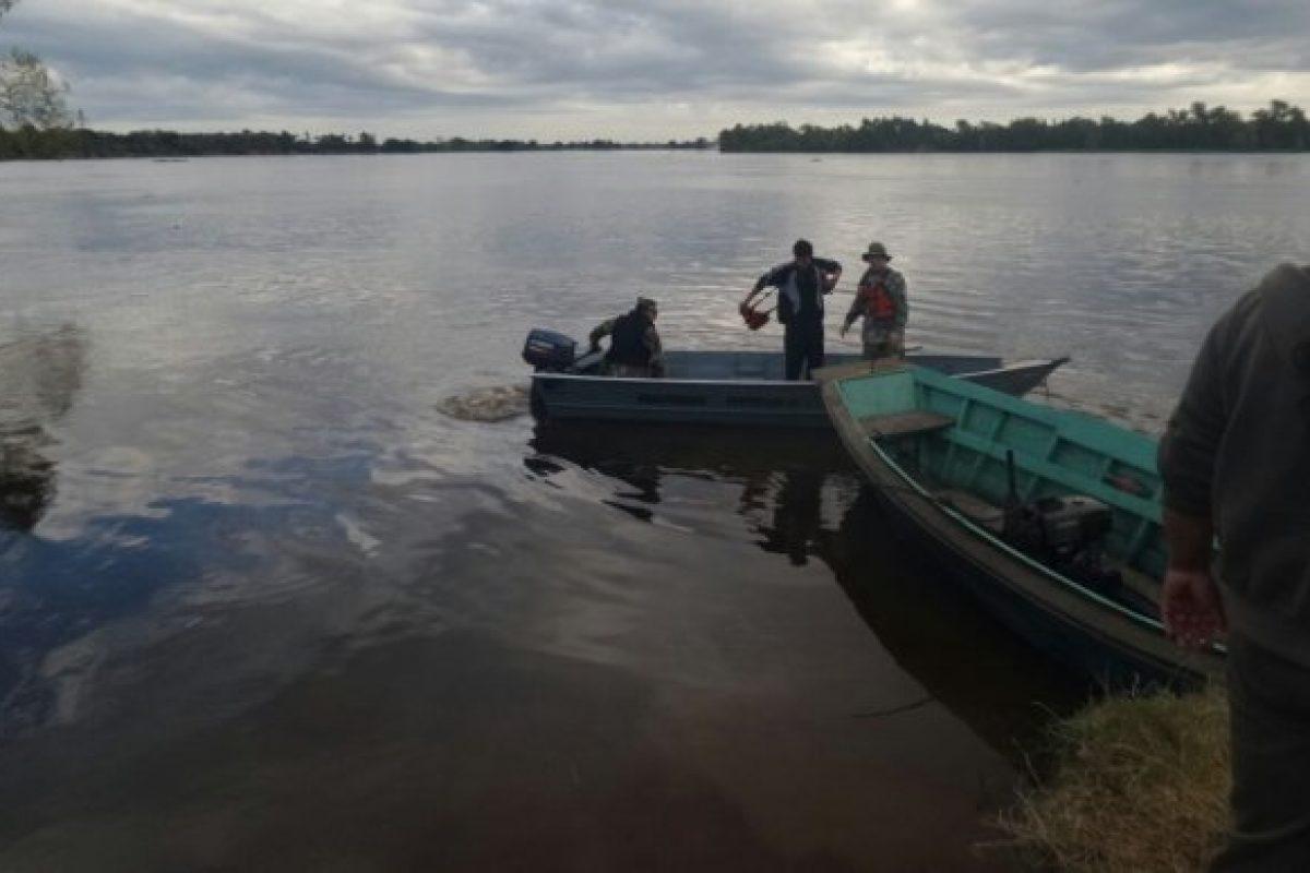 Buscan a persona desaparecida en el río Paraguay