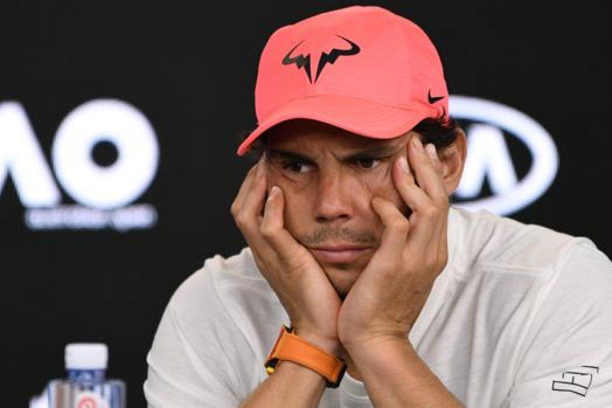 Nadal se retira del Abierto de Australia por una lesión