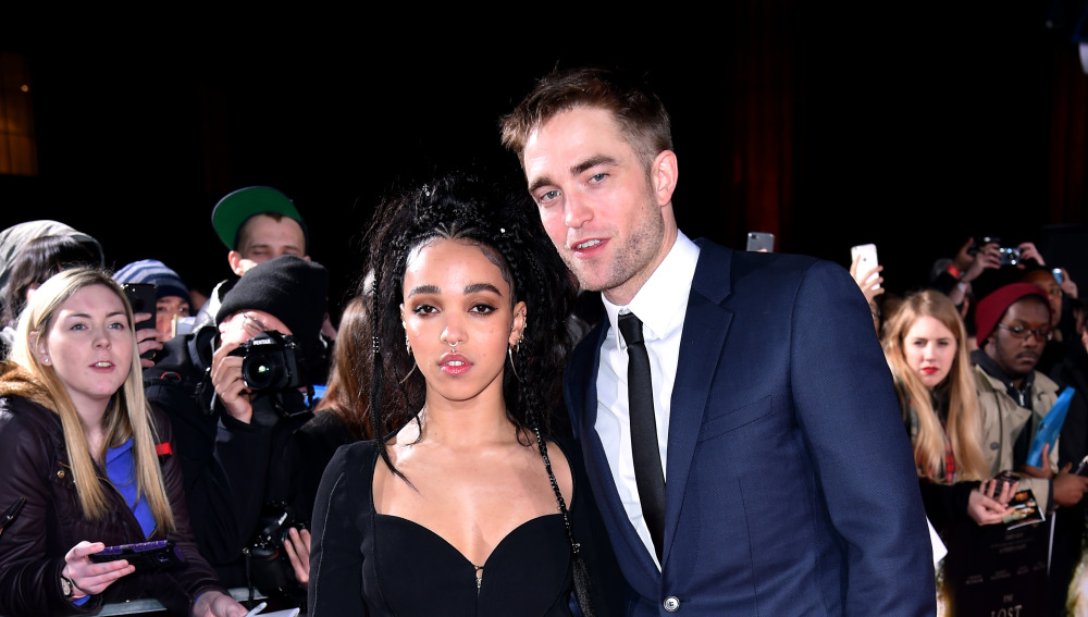 Actor Robert Pattinson and FKA Twigs attending the Lost City of Z UK Premiere , London.