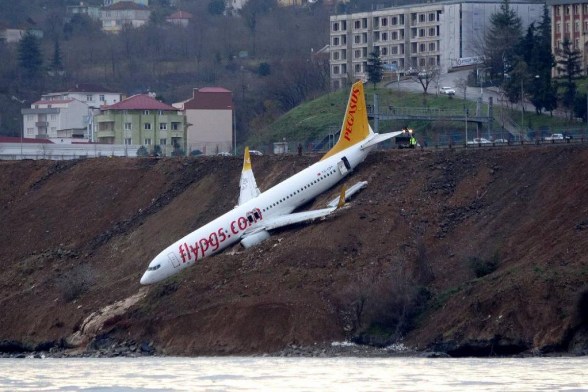 Aterrizaje de emergencia en Turquía casi termina en tragedia