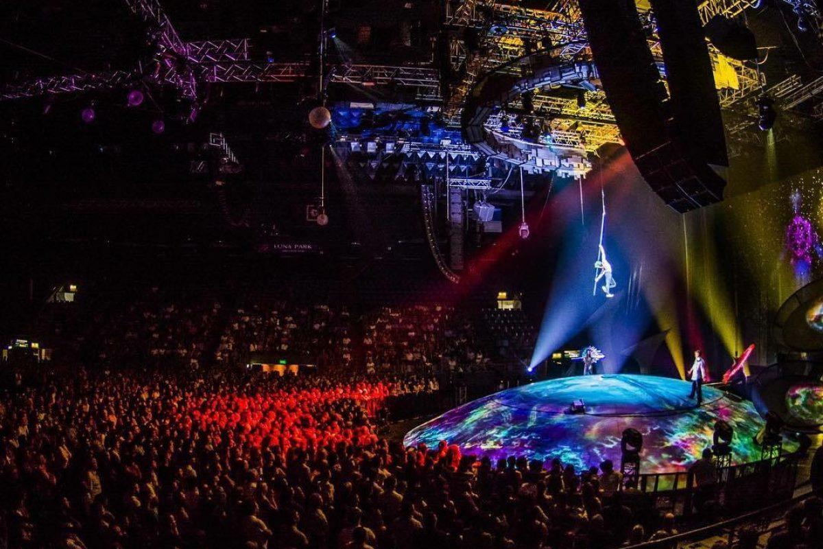 Soda Stereo + Cirque du Soleil= La combinación perfecta