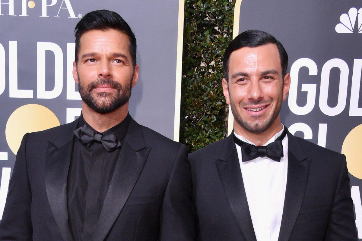¡Ricky Martin está oficialmente casado!