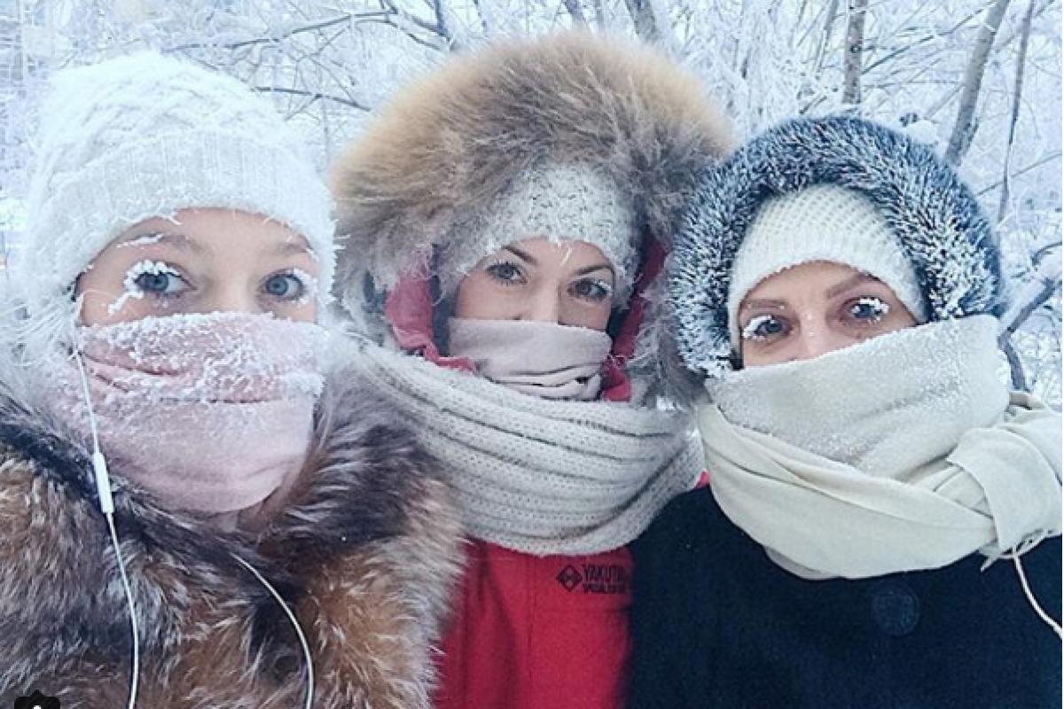 ¡El lugar más frío del mundo registra temperaturas de hasta 62°C bajo cero!