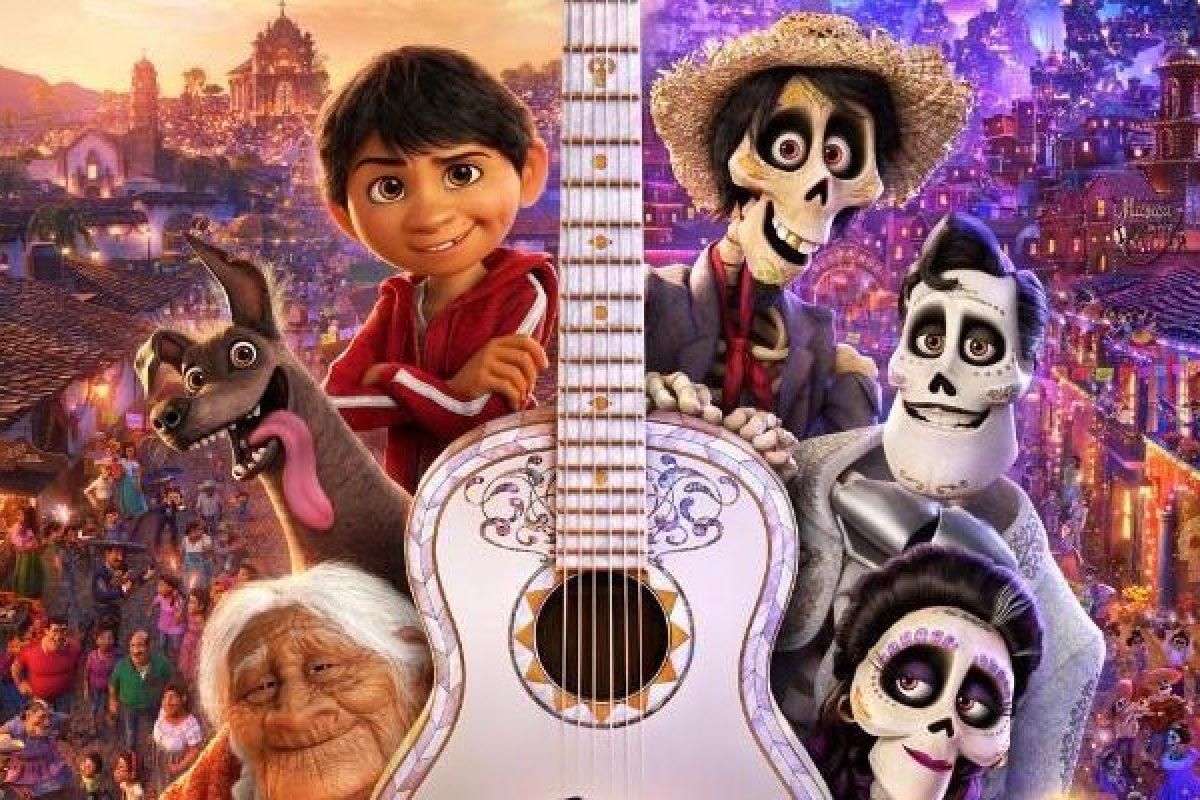 Coco ganó el premio a mejor película animada en los Globos de Oro