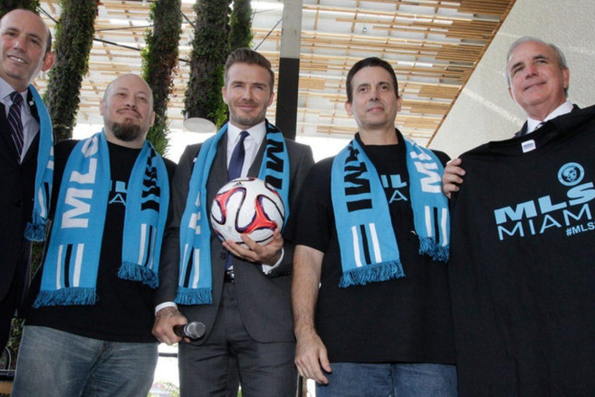 David Beckham es finalmente dueño de su propio equipo de fútbol en Estados Unidos